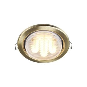 Corp de iluminat încastrat în plafon Maytoni Metal Modern DL293-01-BZ small 0