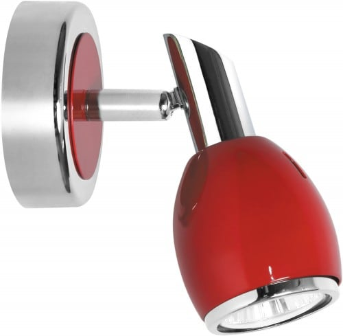 Lampă de perete Culori roșii Chrome GU10 50W