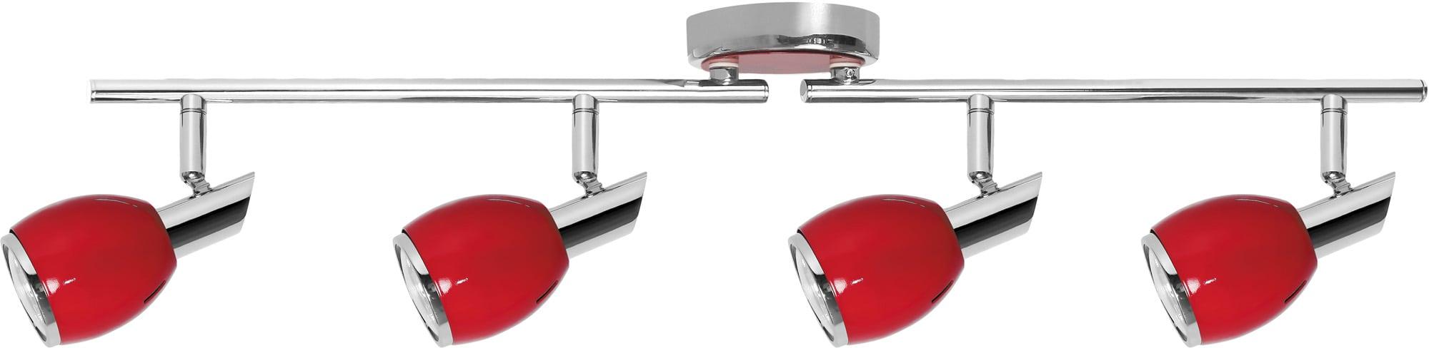 Spot Strip Red Colors Chrome GU10