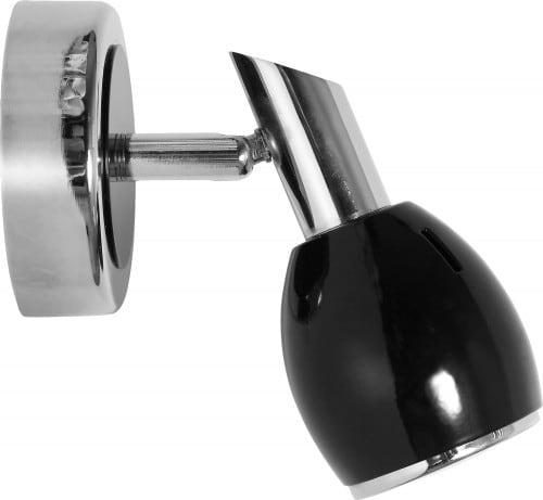 Lampă de perete modernă LED negru, culori GU10