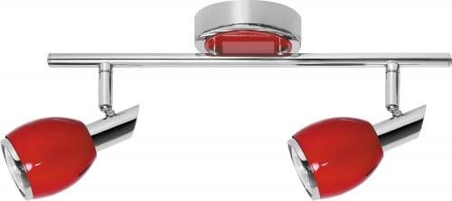 Spot band Roșu LED în 2 puncte LED culori