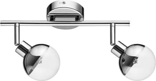 Lampă de plafon Ginos cromatic cu două arme G9 28W