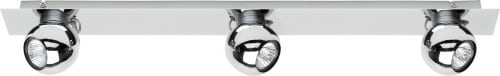 Plafon-Strip 3 Bile Reflektorki Sergio LED 4,5W