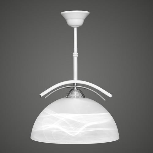 Lampa suspendată Ares peste alb