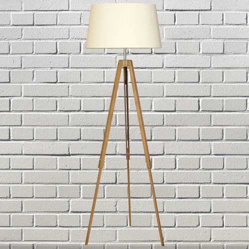 Togo lampă de podea naturală