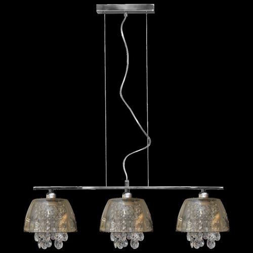 Lampă cu pandantiv din grafit Ronin Crystal 3