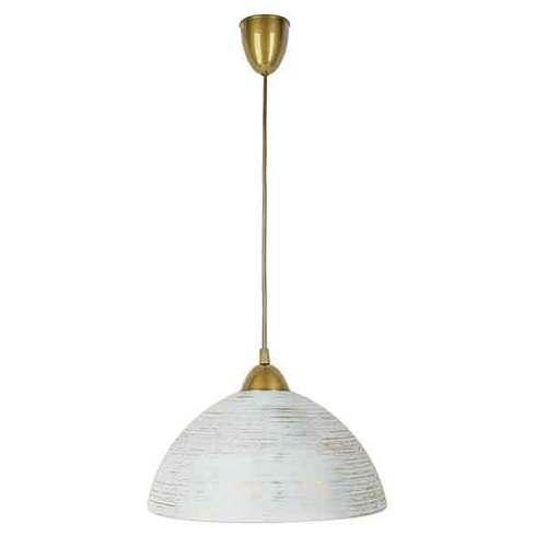 Lampa de suspendare din sferă de aur