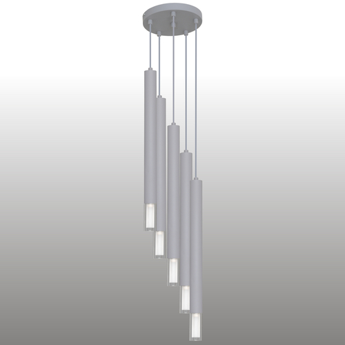 Lampă cu pandantiv gri Kuga 5 XL