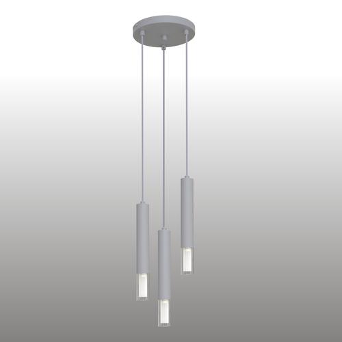 Lampă cu pandantiv gri Kuga 3 M