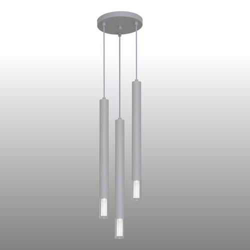 Lampă cu pandantiv gri Kuga 3 XL