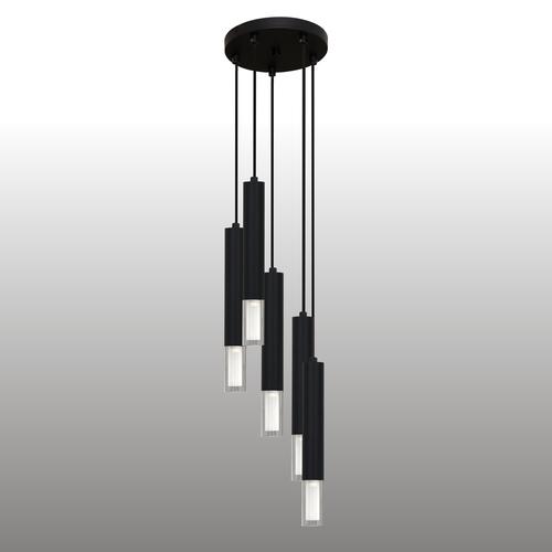 Lampa suspendată Kuga neagră 5 M