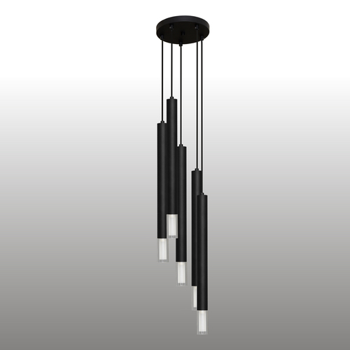 Lampa suspendată Black Kuga 5 XL