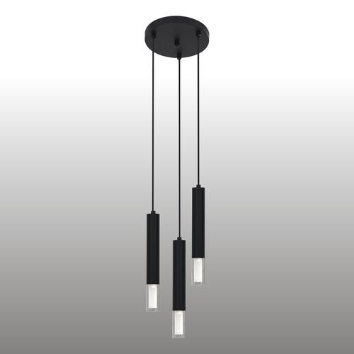 Lampa suspendată Kuga neagră 3 M