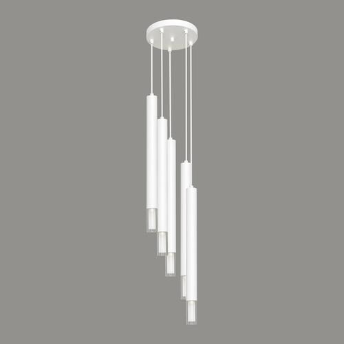 Lampă cu pandantiv alb Kuga 5 XL