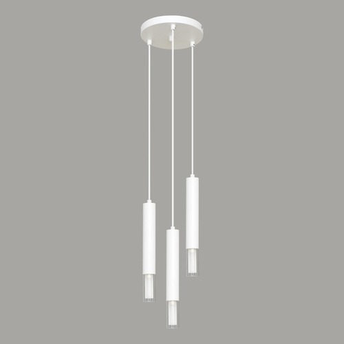 Lampa suspendată Kuga albă 3 M