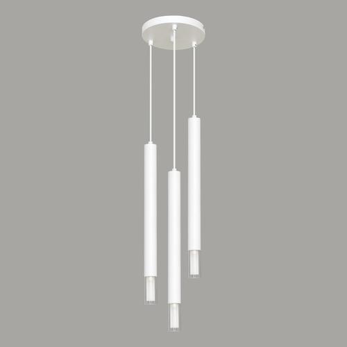 Lampă cu pandantiv alb Kuga 3 XL