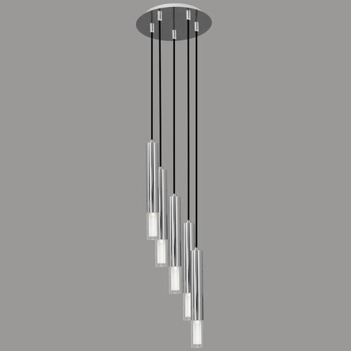 Lampa suspendată Kuga 5 M crom