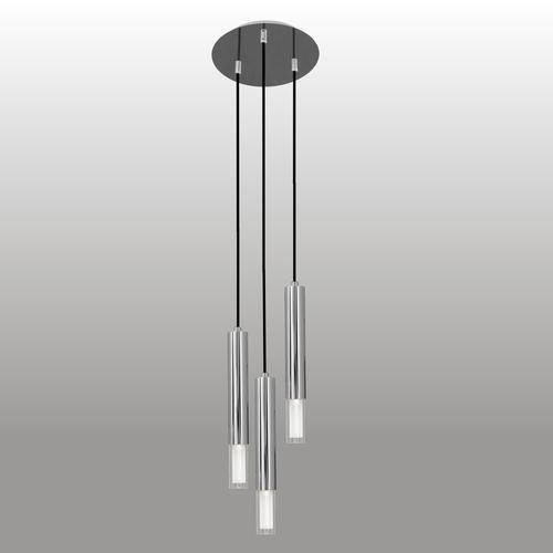 Lampa suspendată Kuga 3 M crom