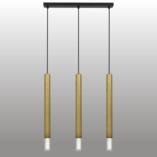 Lampa suspendată cu bandă cromată Kuga 3 Xl