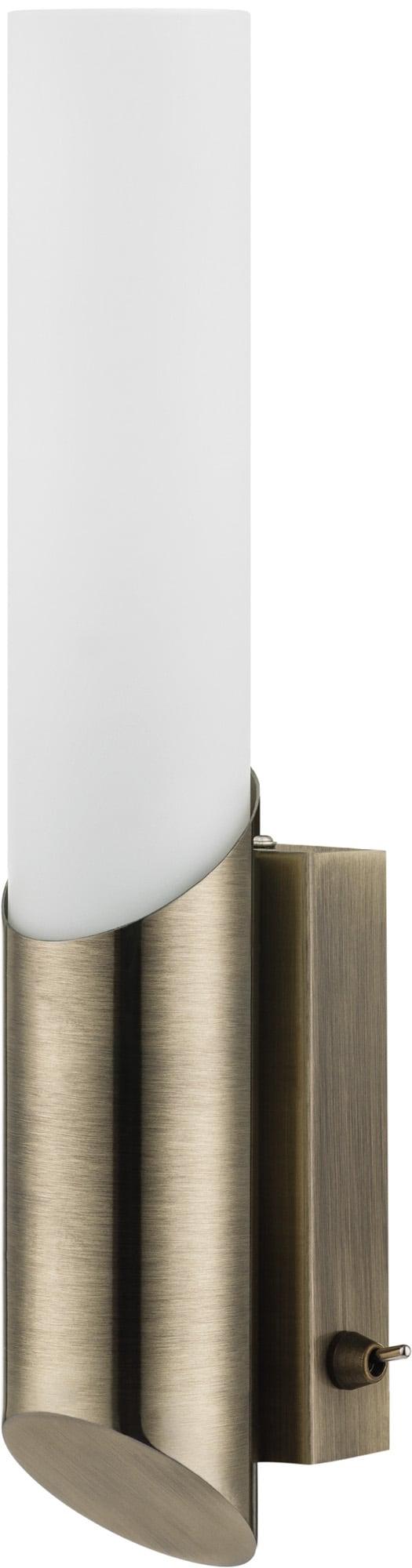 Lampa de perete Patina Patina acvatică / alb E14 40W