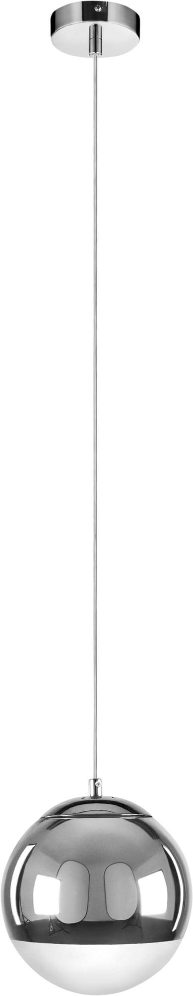 Lampa suspendată single Gino crom E27 60W