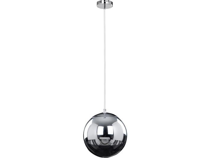 Lampa cu pandantiv crom LED Gino alb / negru 3W