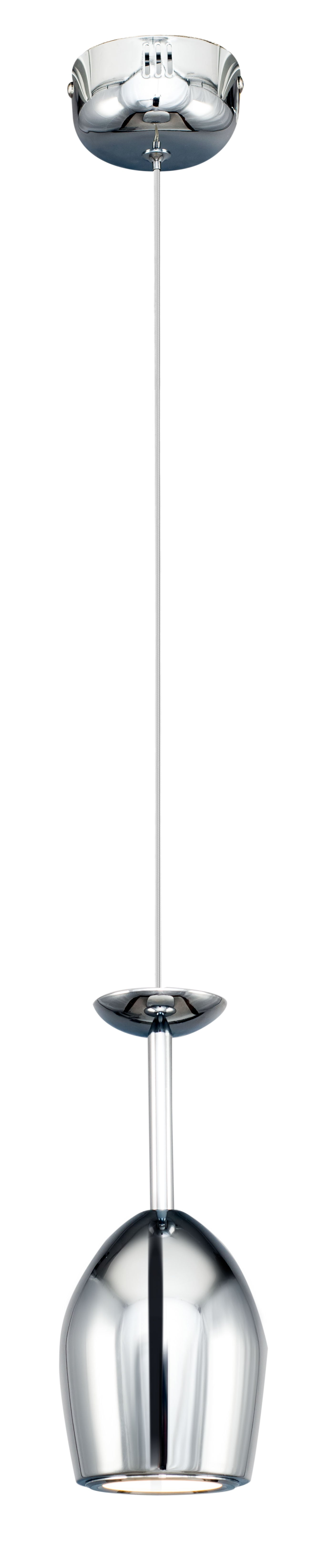 Lampa suspendată modernă LED Merlot crom 5W