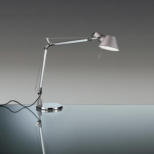 Lampă de birou Artemide Tolomeo Mini Led A005500 + A008600