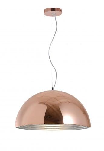 lampa suspendată industrială Mads cupru E27 60W
