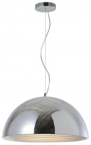 Loftowa lampă cu pandantiv Mads crom E27 60W