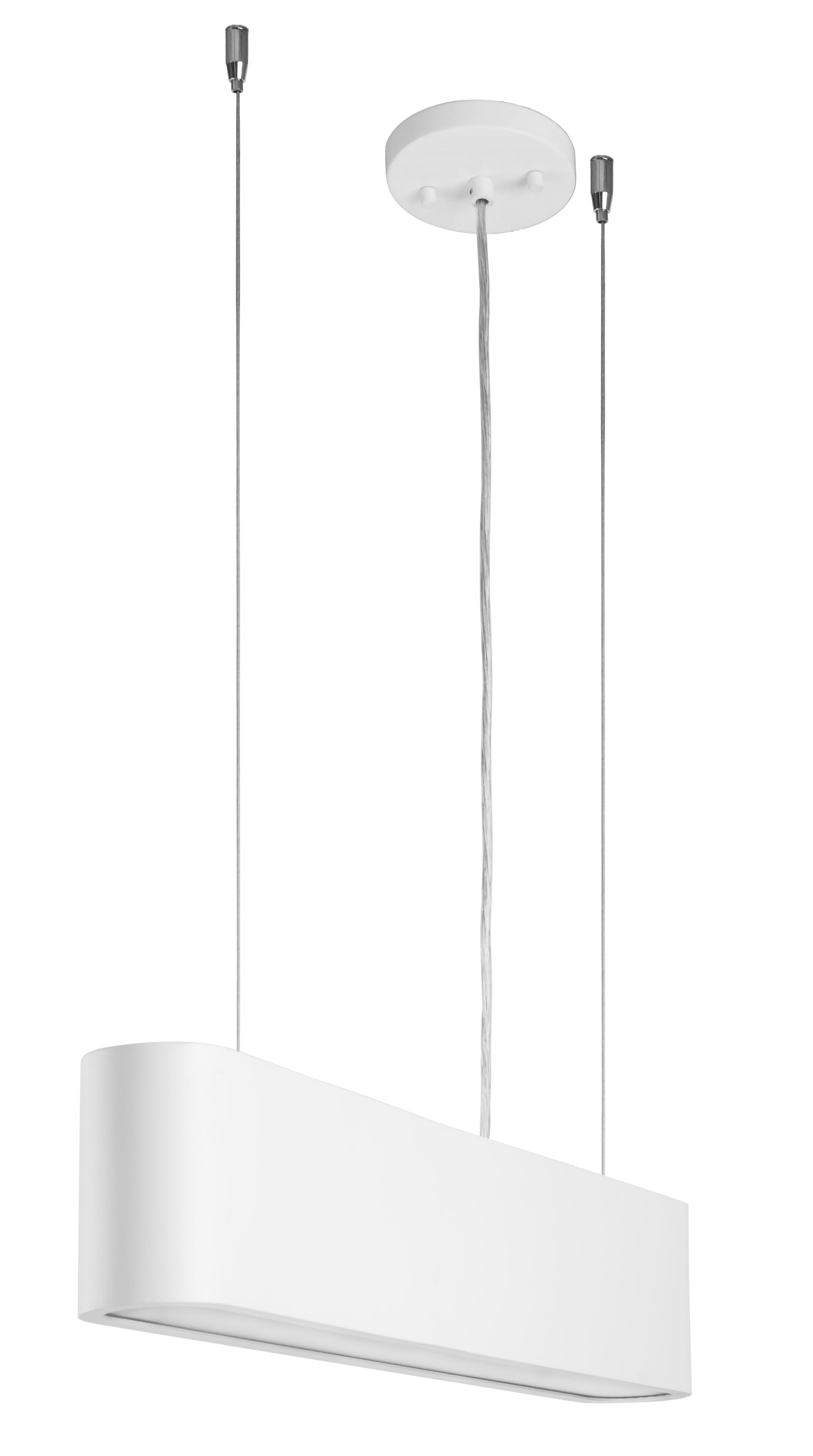 Lampă cu pandantiv industrial alb Illumina LED 28W