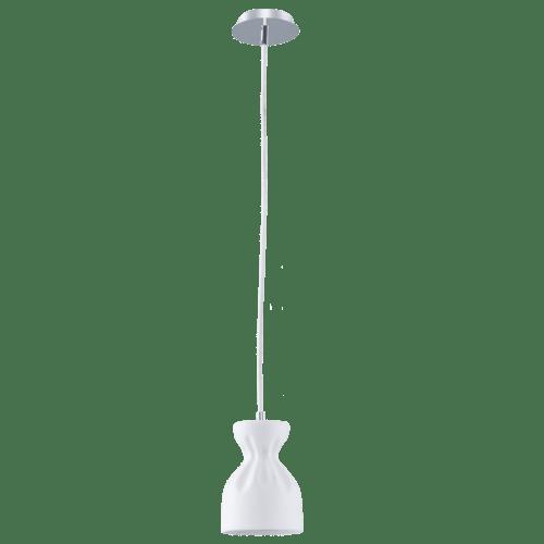 Lampa cu pandantiv alb în stil nordic Noelle E14 40W