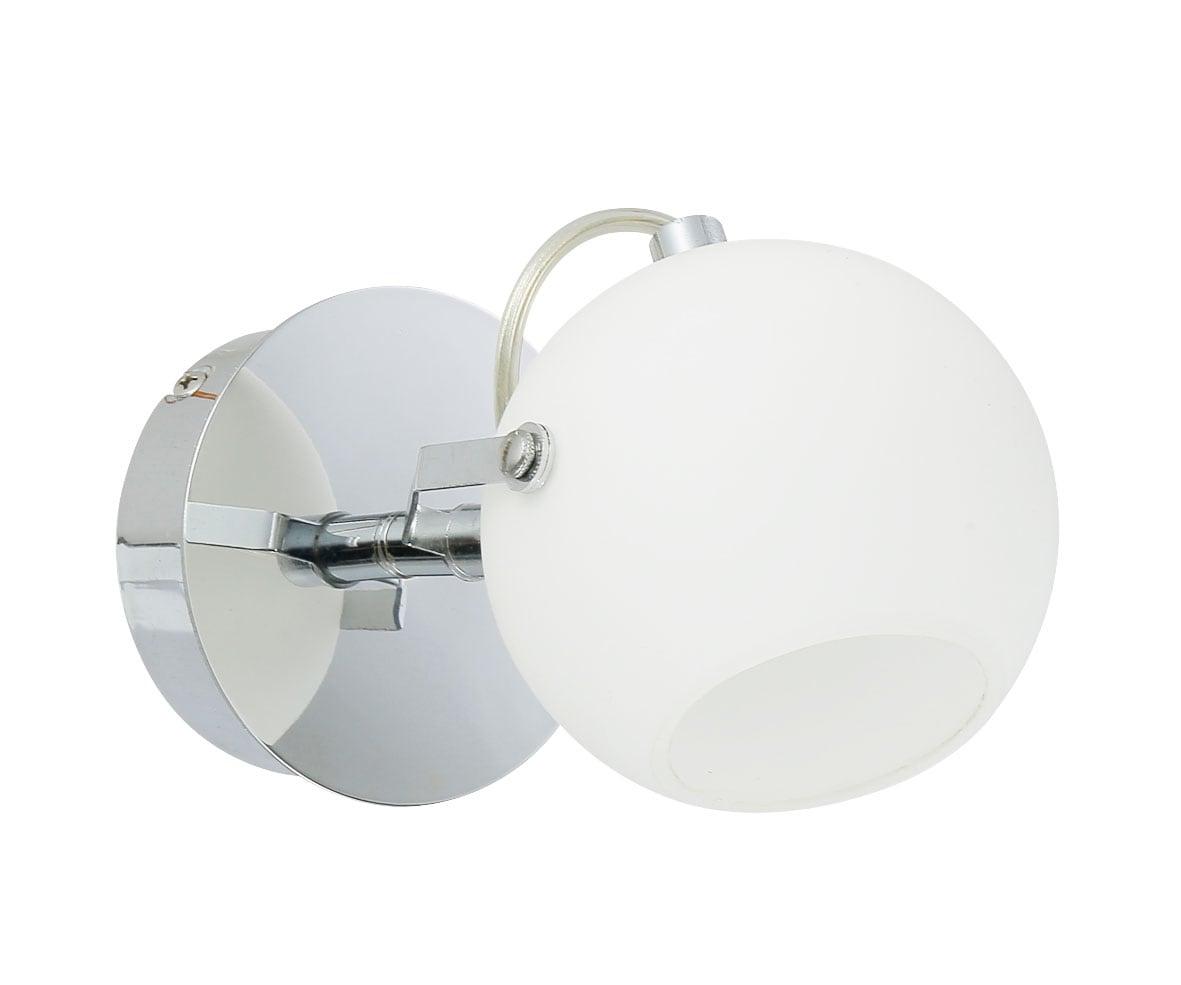 Lampă de perete Ida cromată / LED alb 3W