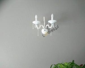 Dublu de lux Rosone alb E14 40W small 1
