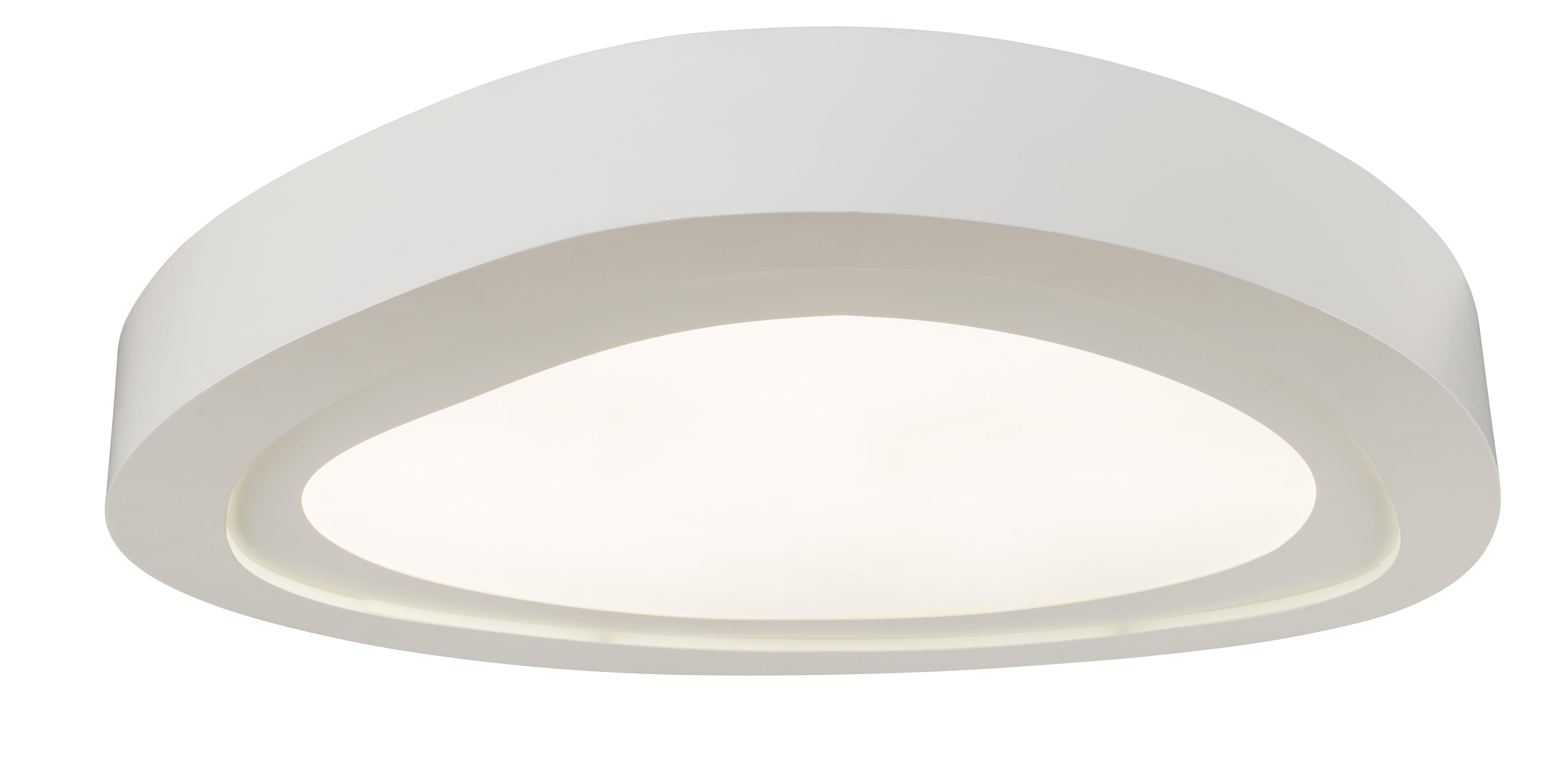 ModernPlafon Cloud alb cu LED de 66W
