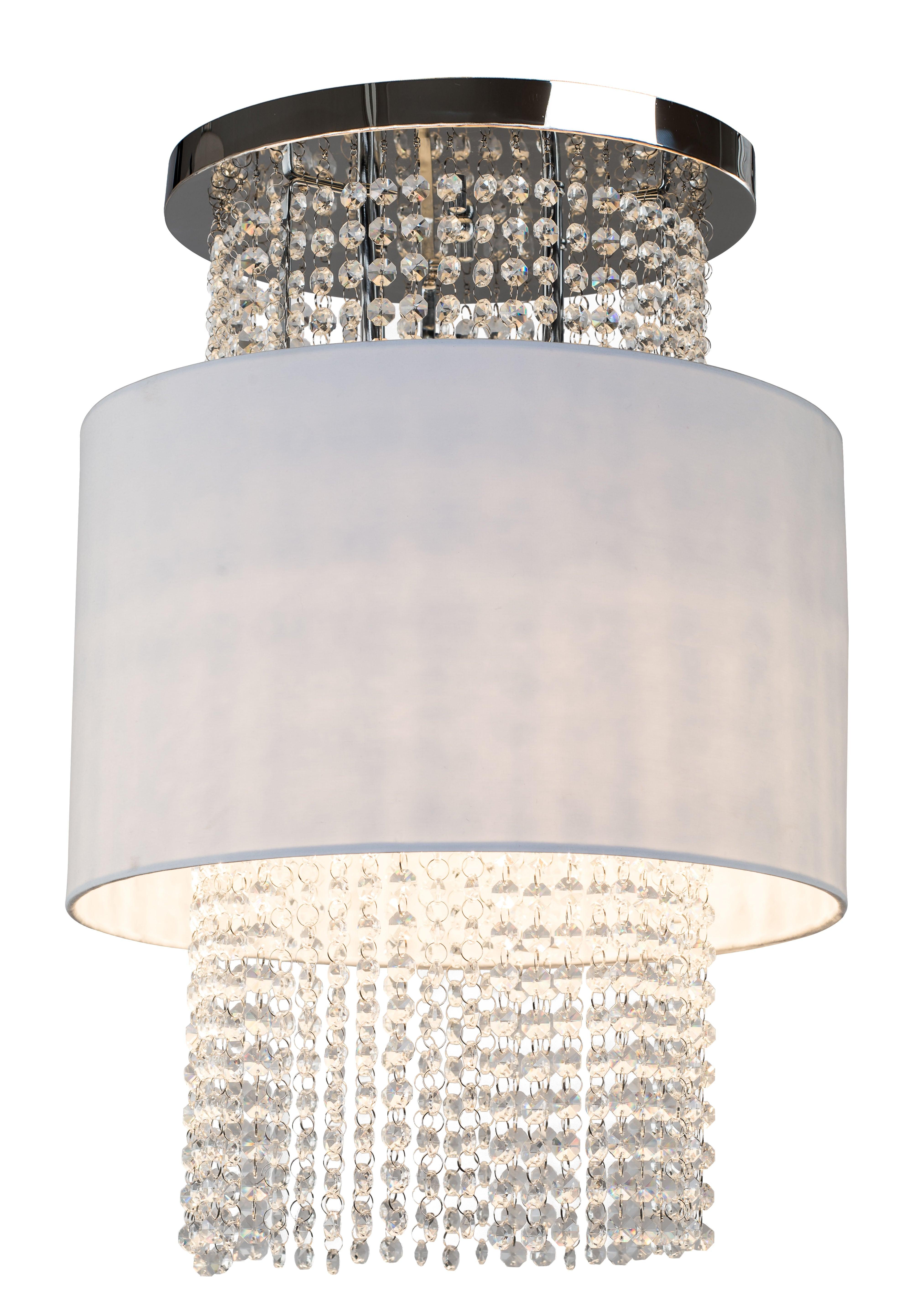 Cascadă plafondă Cascadă albă / cromă E14 40W