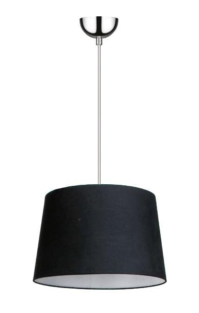 Negru Lampa cu pandantiv Alvin / crom E27 60W