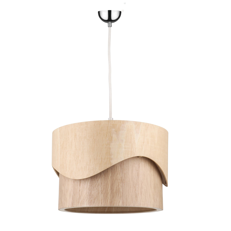 Lampa cu pandantiv din lemn Akira Wood stejar E27 60W