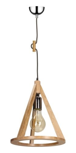 Lampa anko / crom / antracit suspendat E27 60W