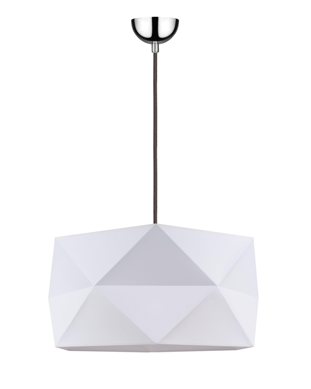 Lampa suspendată Finja biały / antracit E27 60W