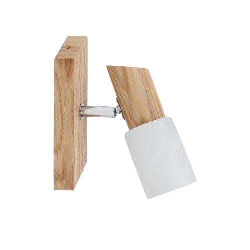 Aplica modernă rustică din lemn BRIGIT