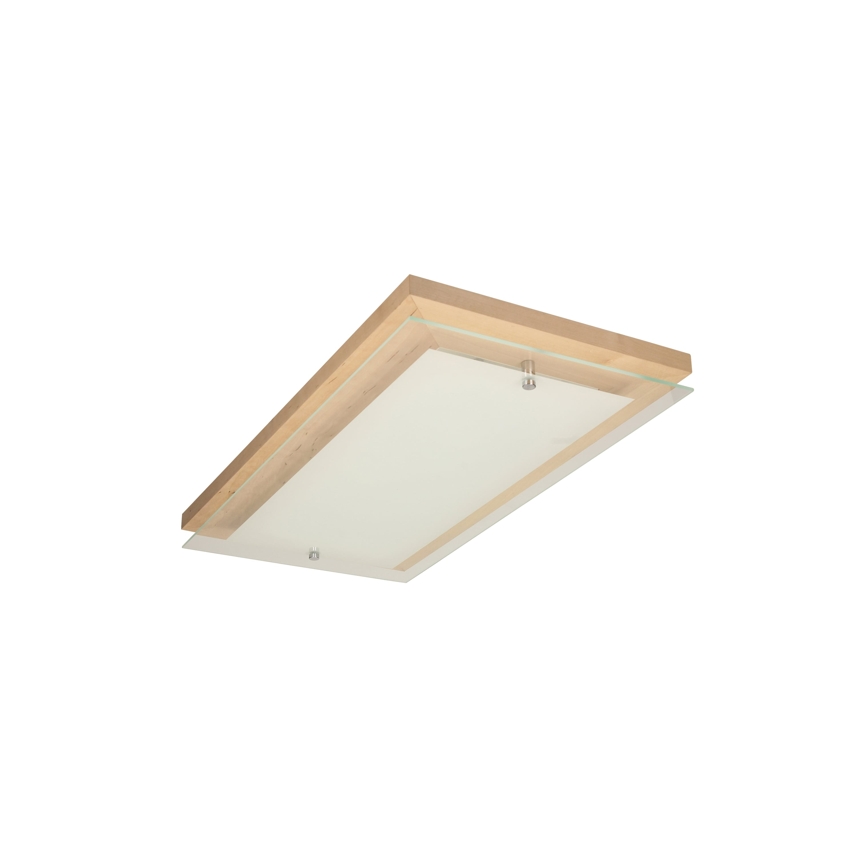 Plafon finlandez brzóz / crom / LED alb 10W