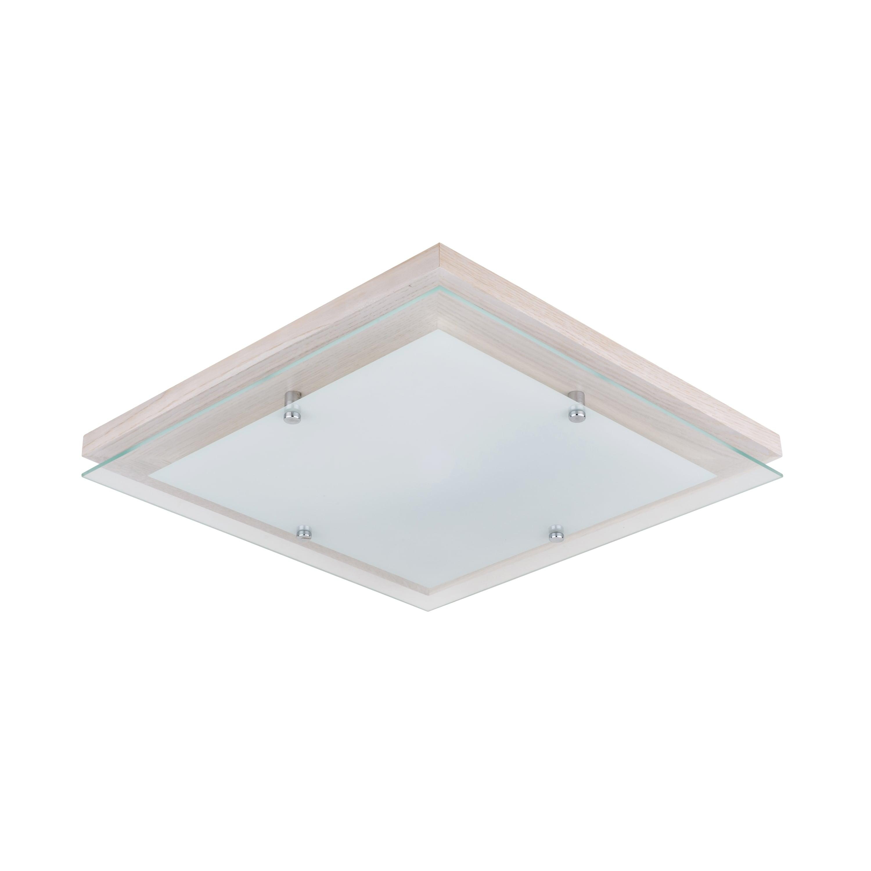 Plafonul stejar finlandic alb / crom / LED alb 2.7-24W