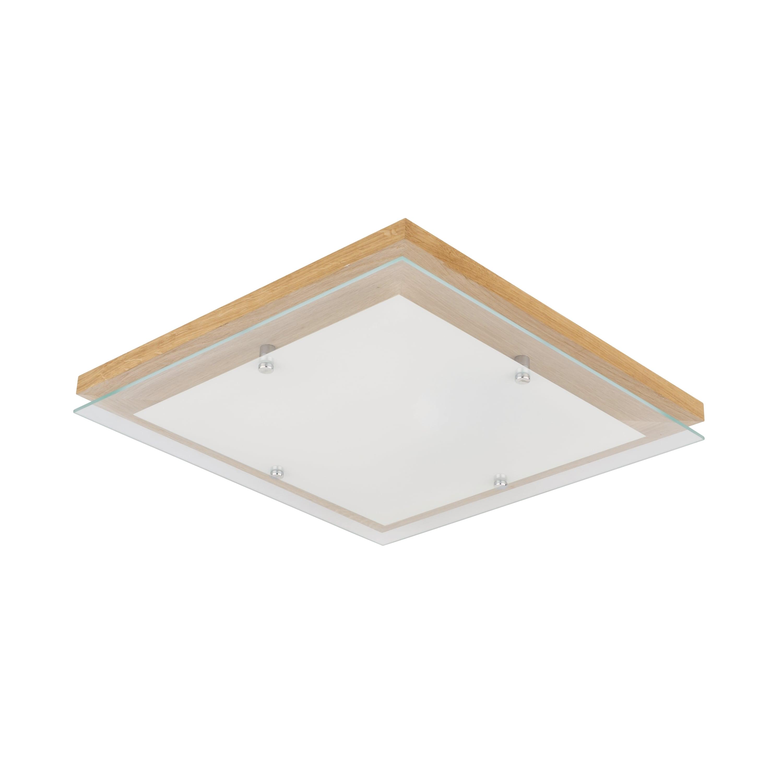 Plafon stejar finlandez / crom / LED alb 2.7-24W