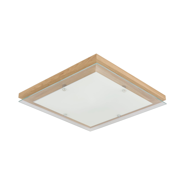 Ulei de stejar finlandez plafonat / crom / LED alb 2.7-24W