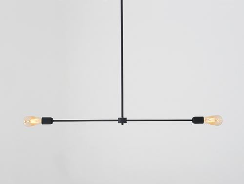 Lampa suspendată TRISO 2 - negru