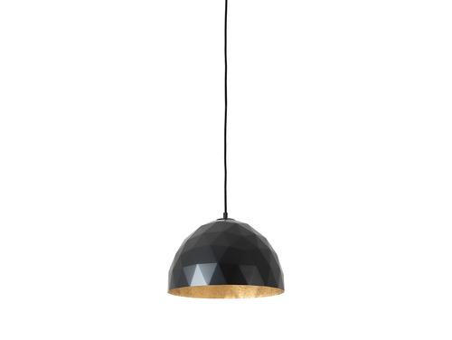 Lampa suspendată LEONARD M - negru auriu