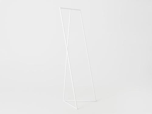 Cuier ZET, culoare albă