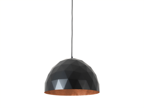 Lampa suspendată LEONARD L - negru de cupru