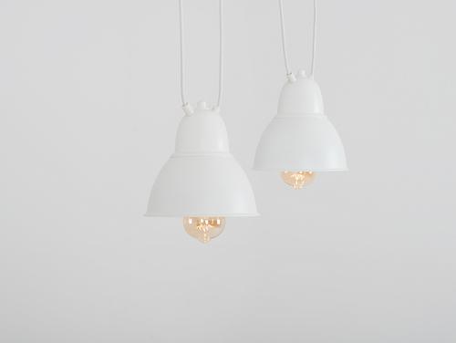 Lampa COBEN HANGMAN 2 suspendată - alb